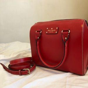 Kate Spade Handbag, Red